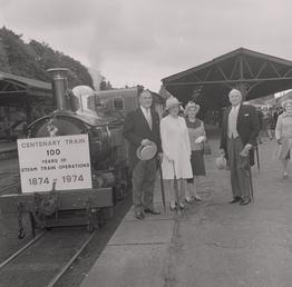 Isle of Man Railway Centenary, Douglas Railway Station
