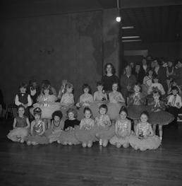 Children's dancing competition, Majestic, Isle of Man