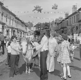 Queen's Silver Jubilee celebrations at Berkeley Street in…