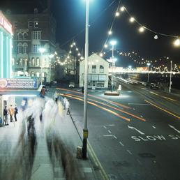 Douglas at night