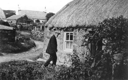 Harry Kelly's Cottage, Cregneash Village, Isle of Man
