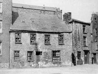 Derelict townhouse, Hanover Street, Douglas, Isle of Man