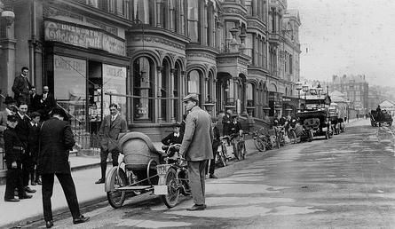 'Tourist Trophy Race 1913', Douglas, Isle of Man
