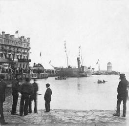 A special occasion on North Quay, Douglas, Isle…