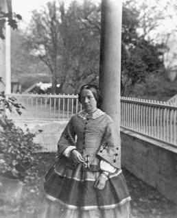 Portrait of a woman, possibly Mrs Burman, Isle…