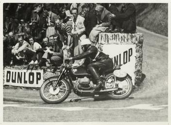 Jock West aboard BMW number 35, 1939 TT…