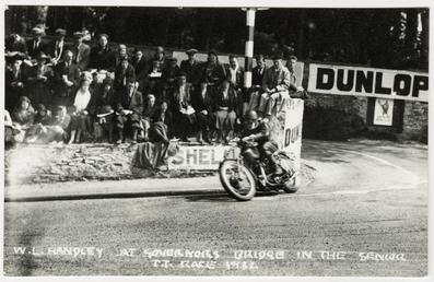 W.L. Handley, 1932 Senior TT (Tourist Trophy)