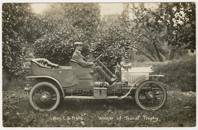 1906 Tourist Trophy race Hon. Charles S. Rolls…