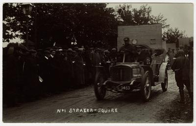 L.R. Squire at the start, 1907 Tourist Trophy…
