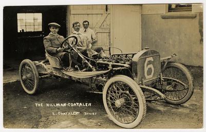 L. Coatalen in a Hillman-Coatalen, 1908 Tourist Trophy…