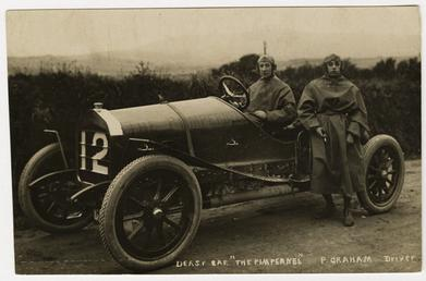 P. Graham, 1908 Tourist Trophy motorcar race
