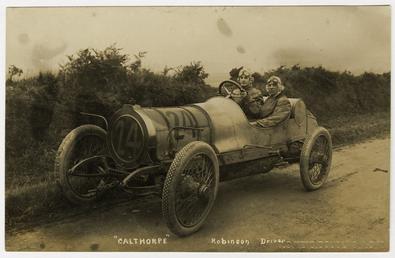 Robinson, 1908 Tourist Trophy motorcar race