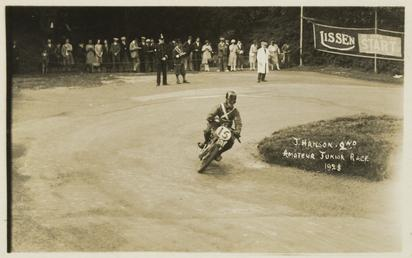 J. Hanson, 1928 Junior TT (Tourist Trophy)