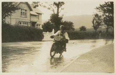 D. Oldroyd, 1927 TT (Tourist Trophy)