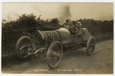 H. Robinson in a Calthorpe, No.24  1908 Tourist…