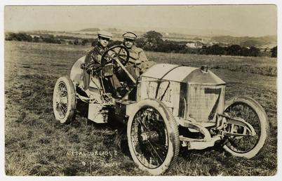 No.7 Métallurgique, 1908 Tourist Trophy motorcar race