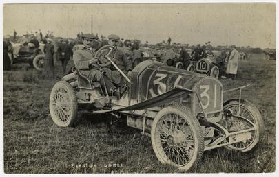 No.31 Beeston-Humber, 1908 Tourist Trophy motorcar race