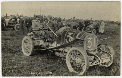 No.31 Beeston-Humber, 1908 Tourist Trophy motorcar race
