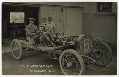 Louis Coatalen in a Coatalen, 1908 Tourist Trophy…