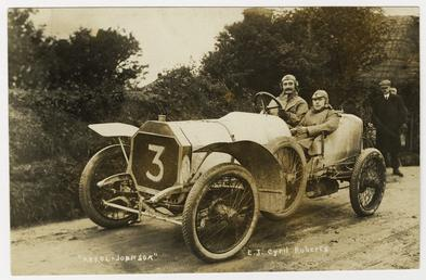 E.J. Cyril-Roberts in an Arrol-Johnson, 1908 Tourist Trophy…