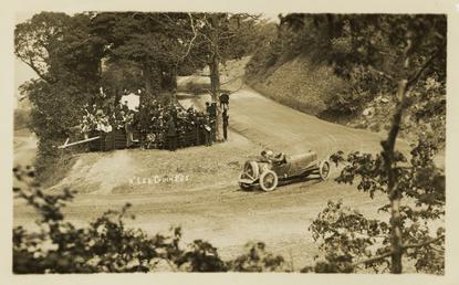 Kenelm Lee Guiness in a Sunbeam, 1914 Tourist…