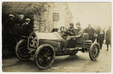 M.L. Molon in a Vinot, 1908 Tourist Trophy…