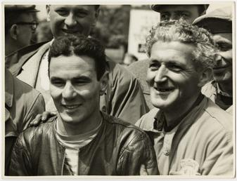 Carlo Ubbiali, winner of the 1956 Ultra Lightweight…
