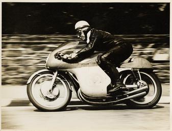John Surtees, TT (Tourist Trophy) rider riding as…