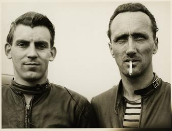 Mick Woollet and Edgar Strub, TT (Tourist Trophy)…