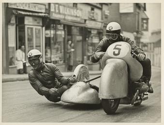 W. Schneider Sidecar number 5 TT (Tourist Trophy)…