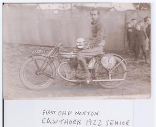 Ralph Cawthorn aboard machine no 34 (registration no…