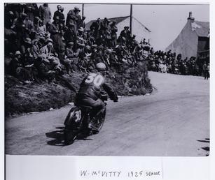 W. McVitty (No 3), 1925 Senior TT (Tourist…