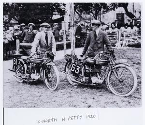 Charlie North (machine no 61) and Harold Petty…