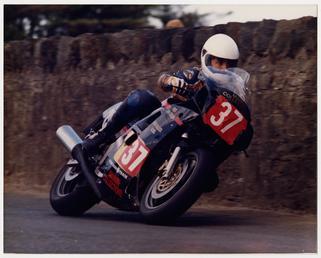John Crellin road racing
