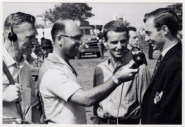 Murray Walker interviewing Ernst Degner and Hugh Anderson…