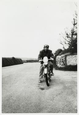 Naomi Taniguchi practising on the Clypse Course, 1959…