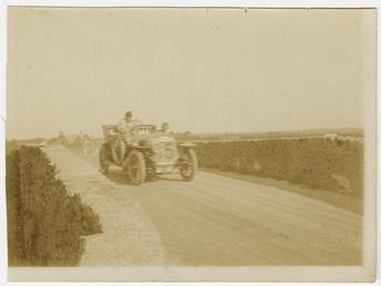 No.15, Tourist Trophy motorcar race at Sulby Bridge