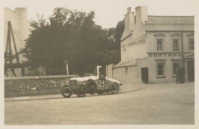 Hillman motorcar, 1922 Tourist Trophy motorcar race