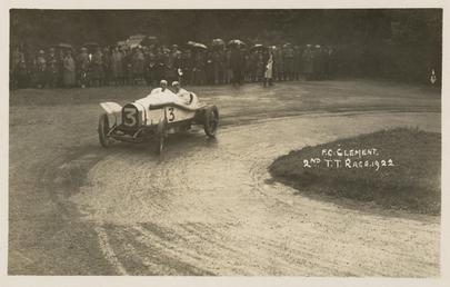 F.C. Clement, 1922 Tourist Trophy motorcar race