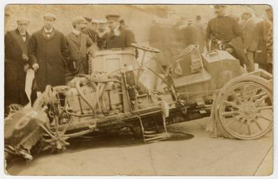 W.T. Clifford Earp's Napier, 1904 Tourist Trophy motorcar…