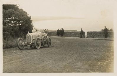 Albert Divo in a Talbot-Darracq, 1922 Tourist Trophy…