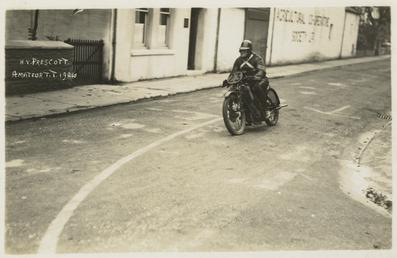 H.V. Prescott, 1926 TT (Tourist Trophy)