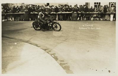 W. Tinning, 1925 TT (Tourist Trophy)