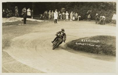 A.J.G. Gilchrist, 1925 TT (Tourist Trophy)