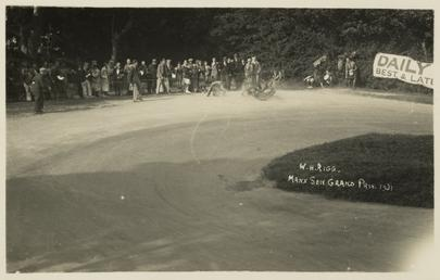 W.H. Rigg, 1931 Manx Senior Grand Prix