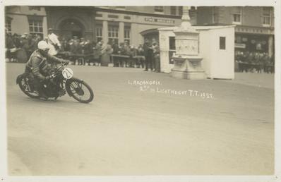 L. Archangeli, 1927 Lightweight TT (Tourist Trophy)