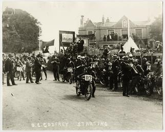 O.C.Godfrey, machine number 112, Bray Hill, 1914 (?)…