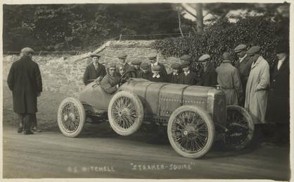 A.S. Witchell in a Straker-Squire, 1914 Tourist Trophy…