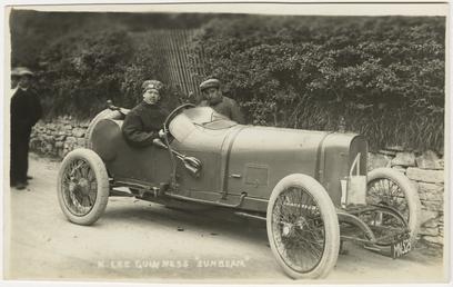 Kenelm Lee Guinness in a Sunbeam, 1914 Tourist…