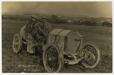 No.7 Metallurgique driven by Oscar Cupper, 1908 Tourist…